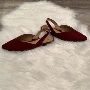 a new day Shoes - NEW Pam V Sling Back Mules